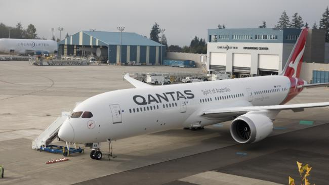 Qantas received its first Boeing 787 Dreamliner plane earlier this year.