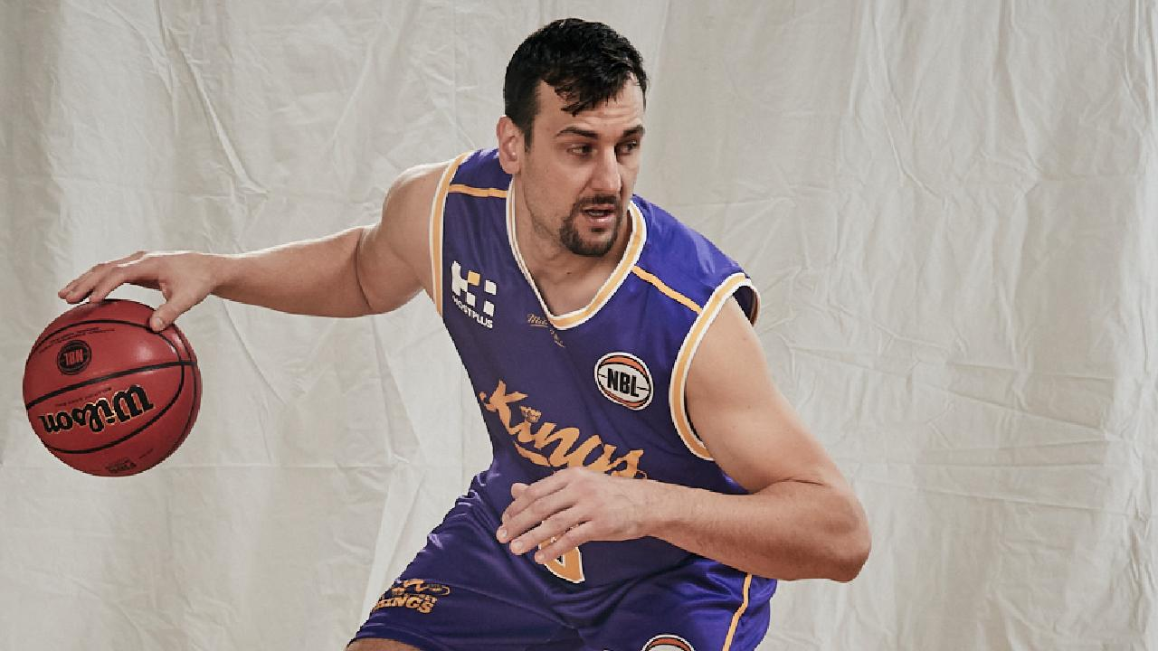 Andrew Bogut Sydney Kings promotional shoot May 2018