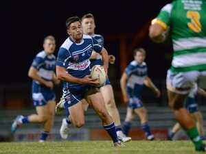 League - Brothers player T Russell in the game