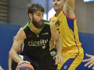 USC RIP CITY against Brisbane Capitals basketball