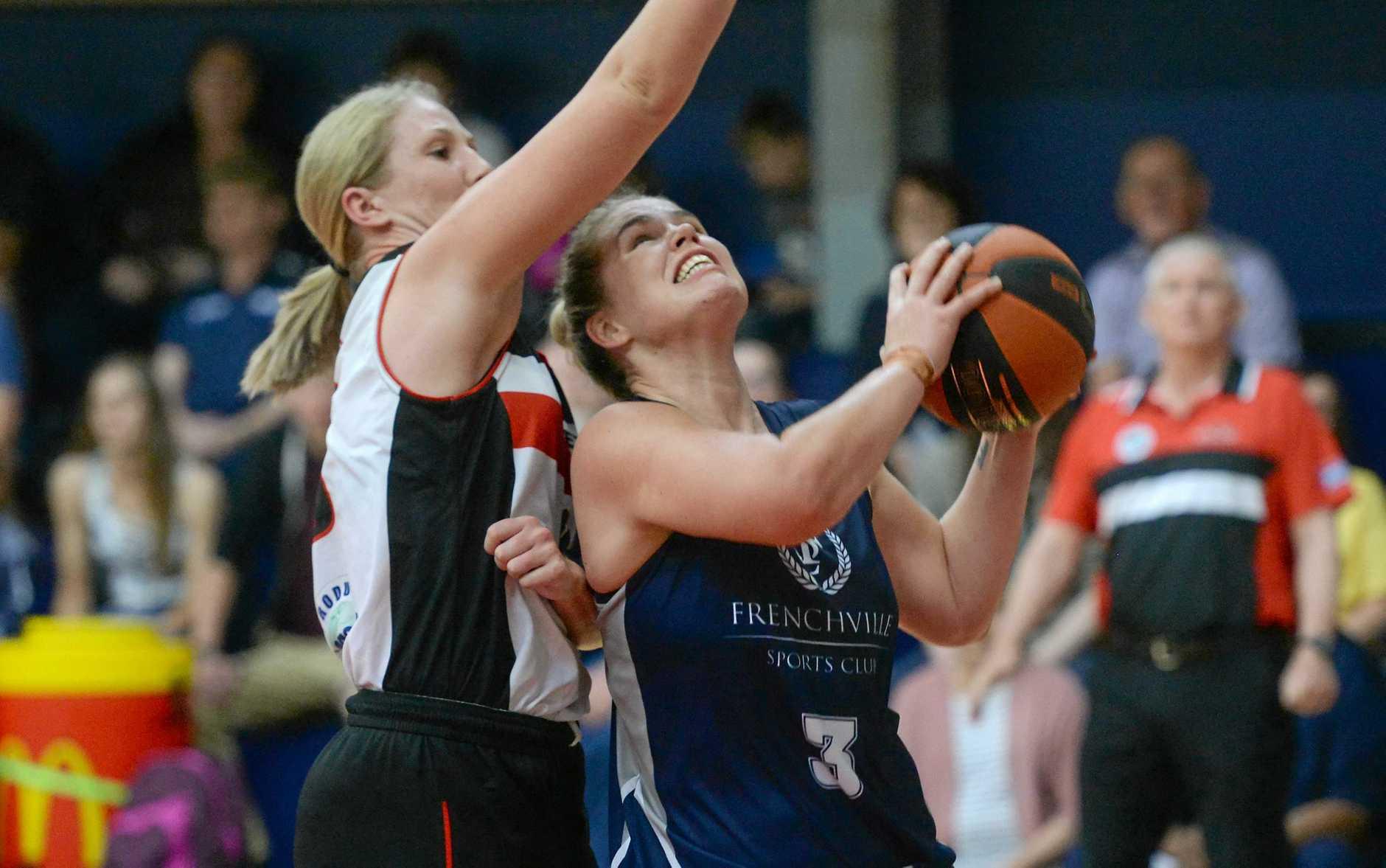 Cyclones player Christina Boag in the team's win against Mackay last weekend.