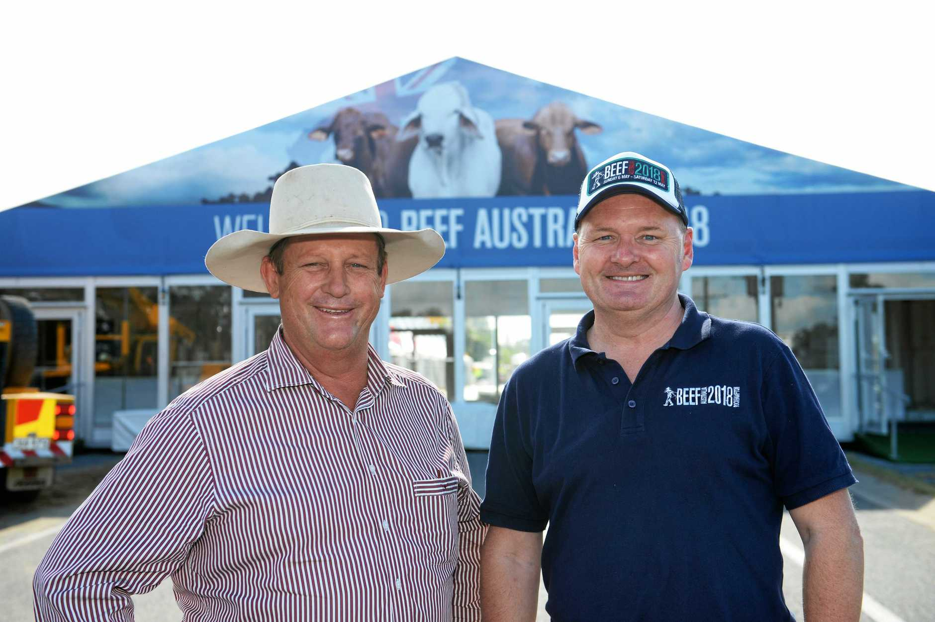 Blair Angus - Chair and Denis Cox- CEO