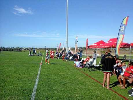 Saturday's opening of the Hartley St Recreation Reserve in Emu Park was a great success.