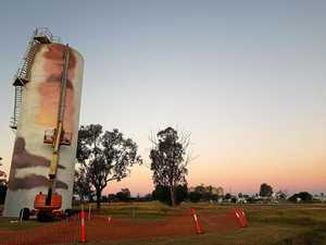 Moura water tank the focus of new art project