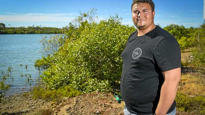 WATCHFUL EYE: Tobias Asse-Flinn is one of 23 Indigenous rangers being trained as marine inspectors to protect sea country and the Great Barrier Reef marine park.