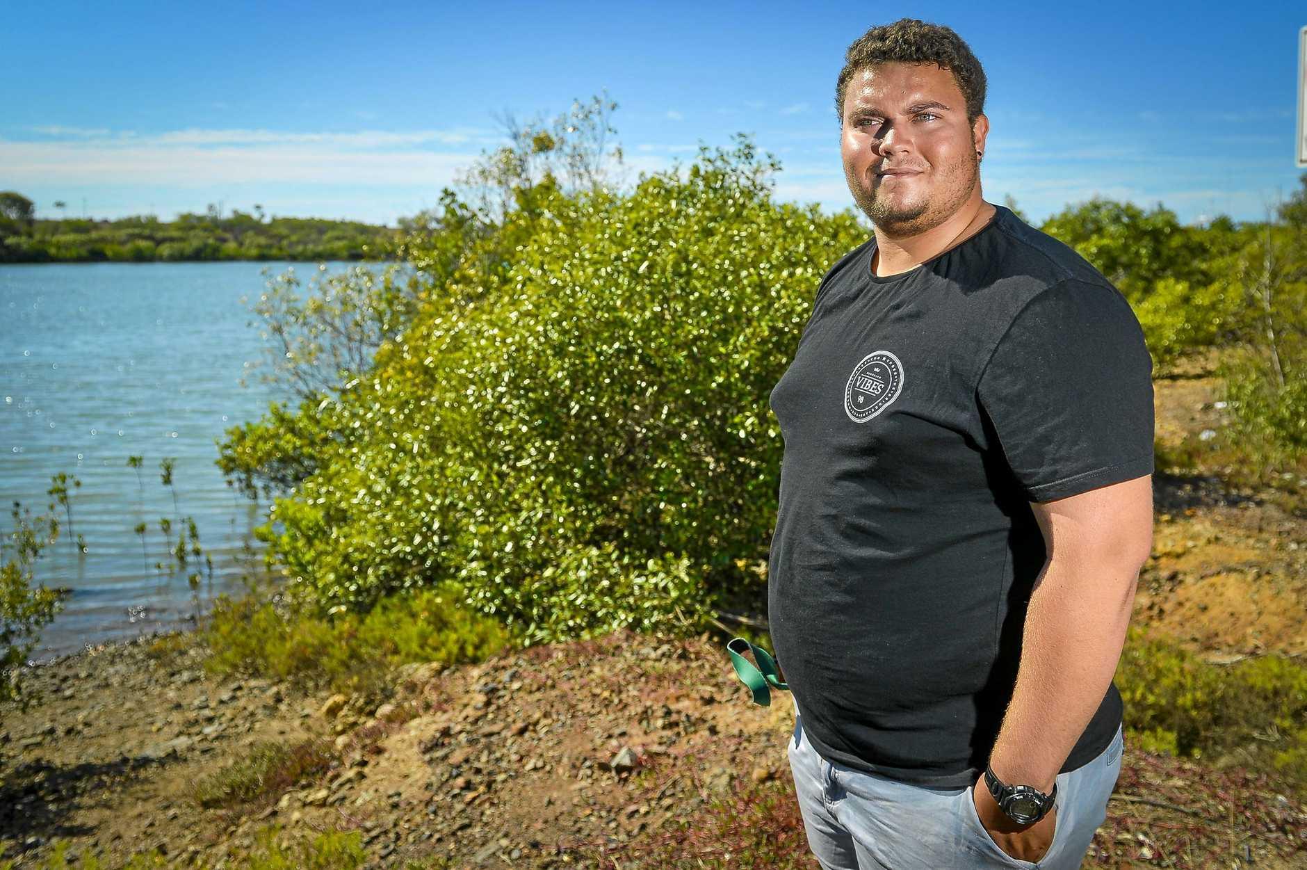 TRADITIONAL OWNER: Tobias Asse-Flinn is an indigenous ranger, patrolling the Great Barrier Reef Marine Park.