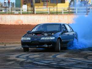 GALLERY: Surprise gender reveal at burnout competition