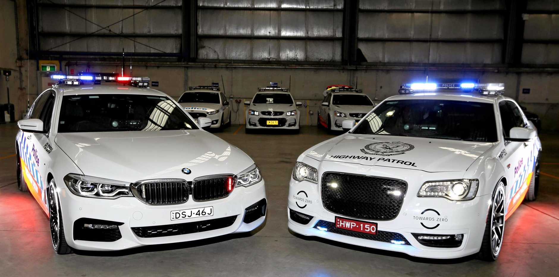 The new NSW Police Highway Patrol Cars that will be hitting the roads soon