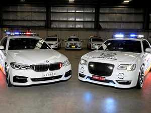 HOTTED UP: Take a look at our new police highway patrol cars