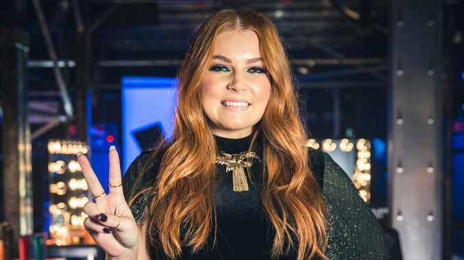 Sally Skelton soared in her first live TV performance on The Voice tonight.