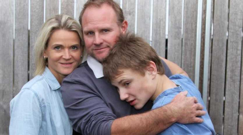 Community support gives Aussie family second chance. Picture: Katie Brannaghan