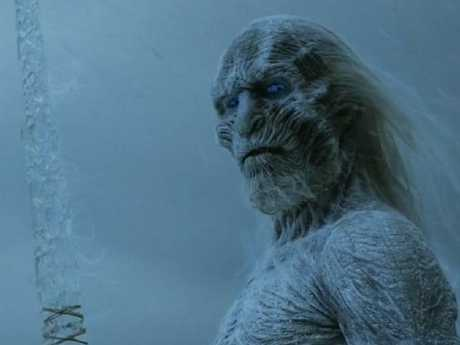 The White Walkers' ice blades are made from a complex chemical composition that won't shatter.