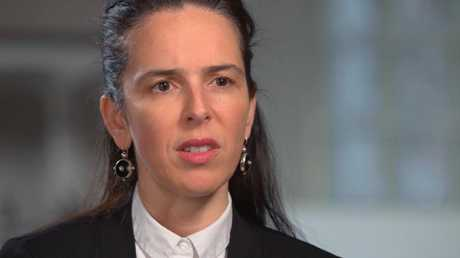 Julia Angrisano said many bank employees struggled with the workplace culture. Picture: 60 Minutes