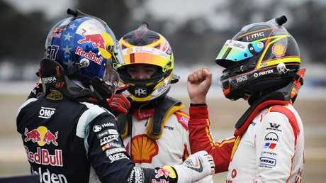 Kiwis filled the podium at Winton.
