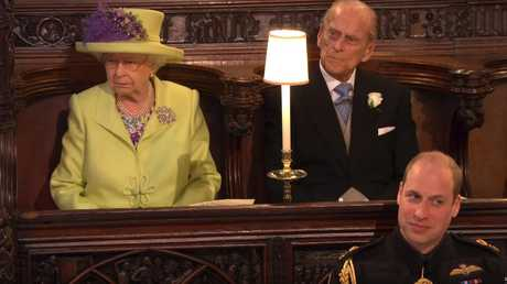 One must never obscure the royal view. Picture: BBC