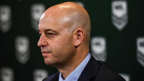NRL boss Todd Greenberg.