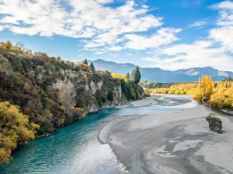 A view of part of the Shotover River. Picture: istock
