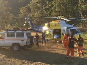 Two motorbike riders airlifted in separate crashes