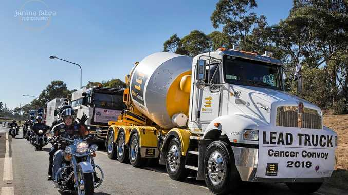Elvin Group leads the Rise Above Cancer Convoy for 2018.