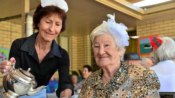 Residents get royal treatment