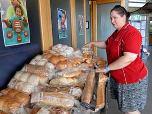 Community centre putting food on the table for free
