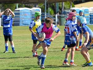 Footy fun for junior players