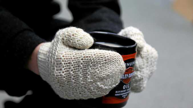 WINTER WARMERS: Cold weather brings out coats, mittens and mugs of warm tea.