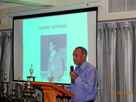 Record-breaking former Ipswich Grammar School student Lynten Johnson provided an inspirational story as guest speaker.