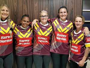 Fabulous five in first-ever Queensland Country team