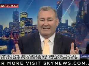 Bundy mayor hits out at cashless card on national TV
