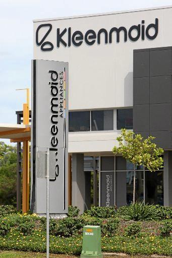 Kleenmaid's Sunshine Coast office before its dramatic closure.