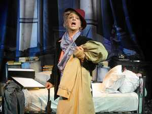 Paul Capsis goes on stage as Quentin Crisp