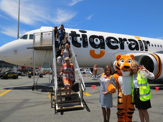 Tigerair is tracking well, according to the report.