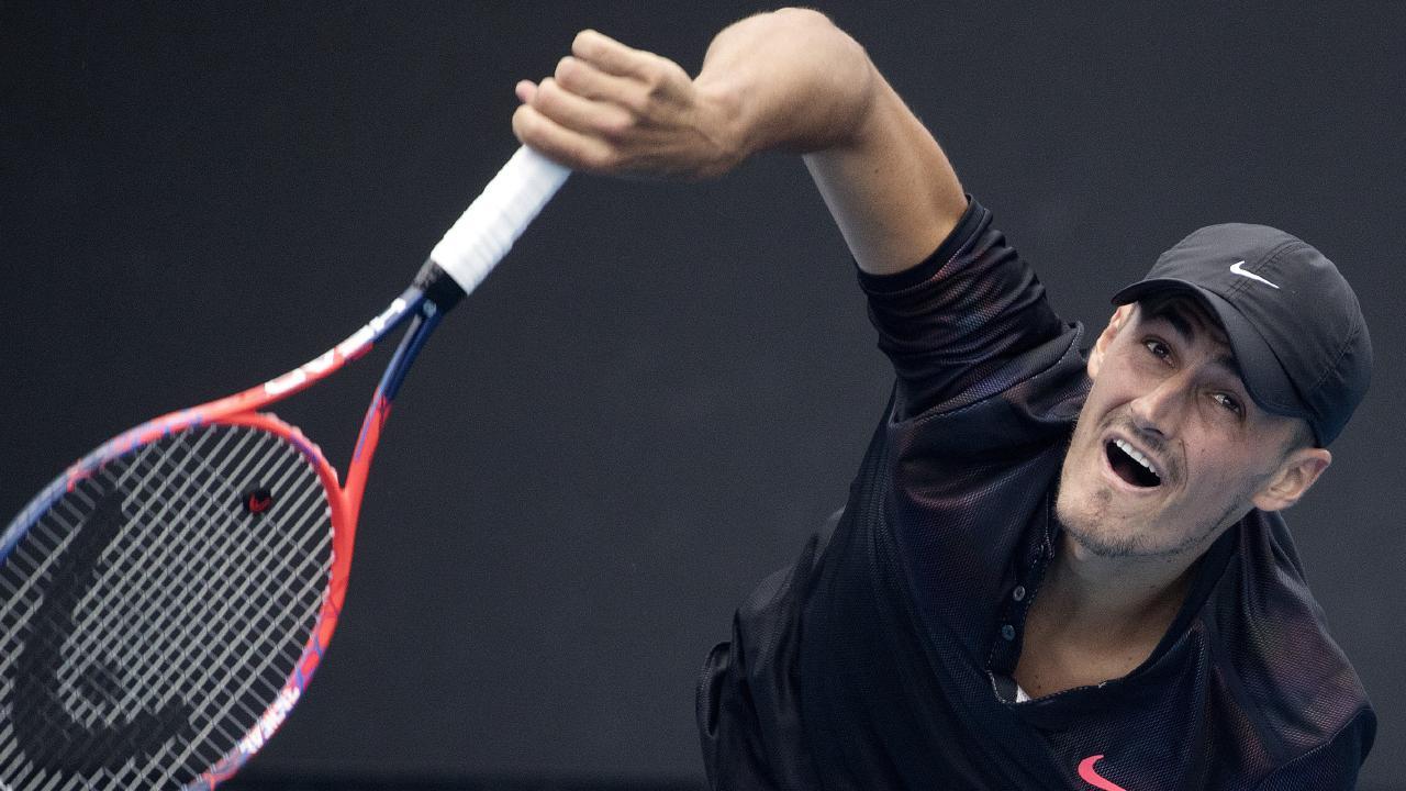 Bernard Tomic lost a Challenger final to John Millman last week. Pic: Michael Klein