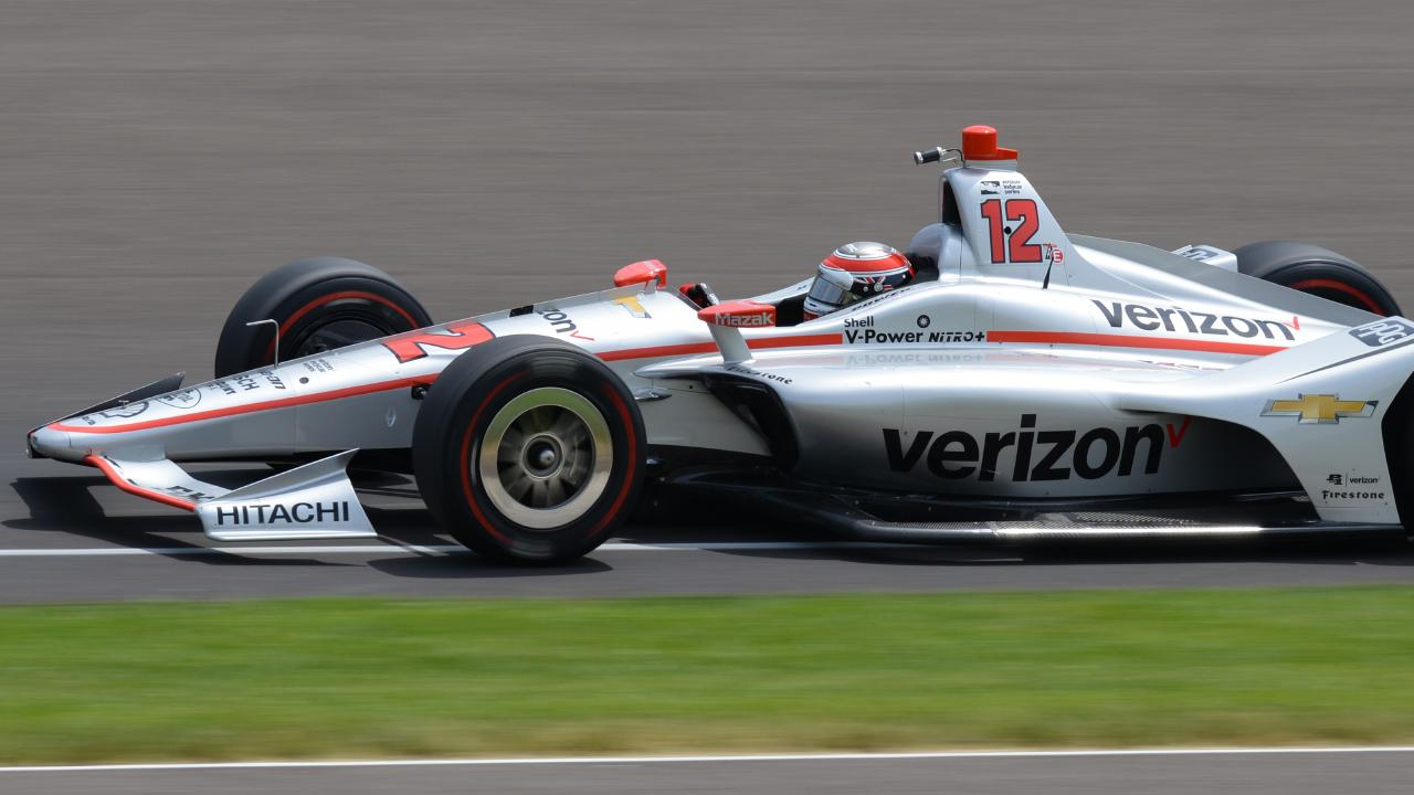 Will Power qualified third for the 102nd Indianapolis 500. Pic: IndyCar