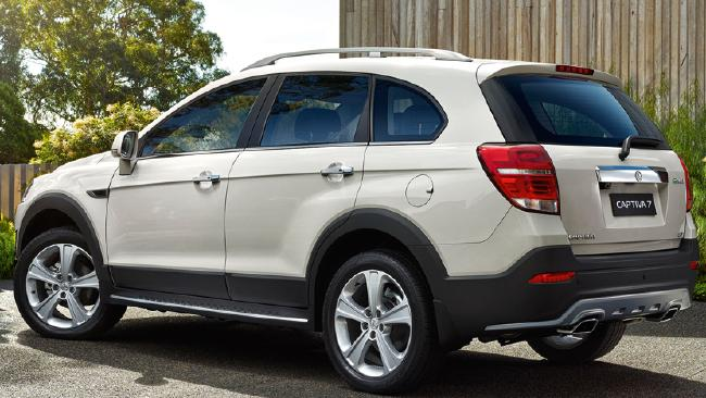 2014 Captiva 7 LTZ: Slight facelift, new alloys, prices trimmed