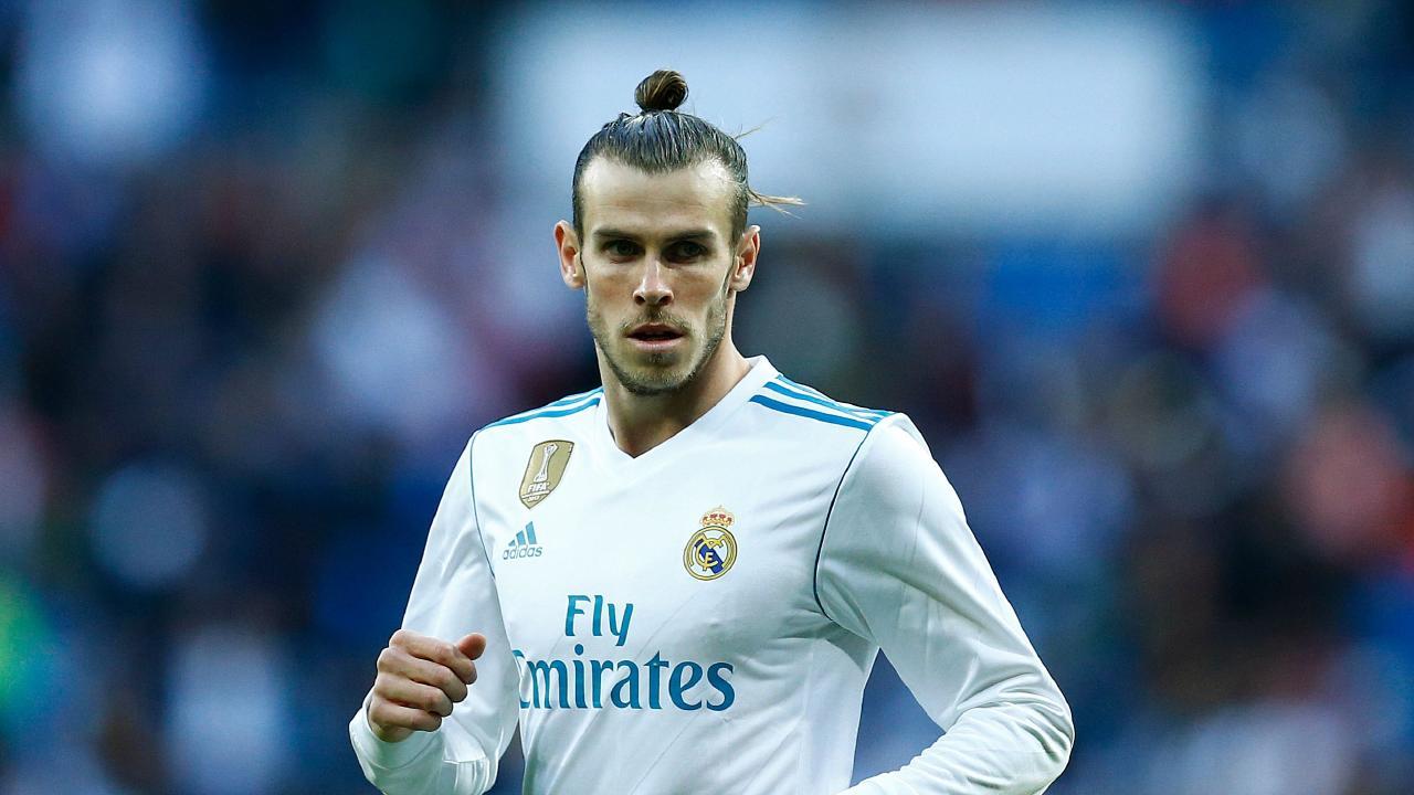 Real Madrid's Welsh forward Gareth Bale.