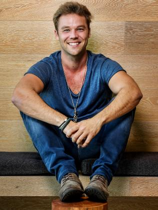 Australian actor Lincoln Lewis will play a solider in new Aussie film Danger Close. Picture: AAP Image/Brendan Esposito