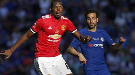 Manchester United's French midfielder Paul Pogba was the subject of vile monkey chants in Russia.