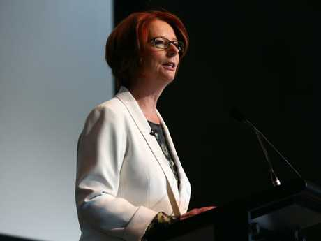 The NDIS was a signature policy of the Gillard government. Picture: David Clark