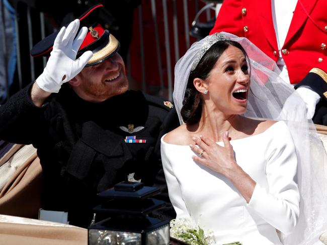 A regional visit has been proposed for Prince Harry and Meghan Markle when they are expected in Australia later this year. Picture: Reuters/Benoit Tessier