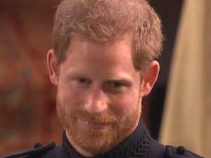 Prince Harry reportedly flew African orphan he met 14 years ago over for wedding. Picture: BBC
