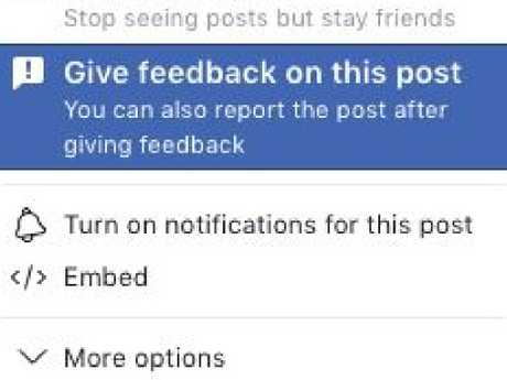 It is reportedly getting more difficult to remove content on Facebook. Picture: Supplied