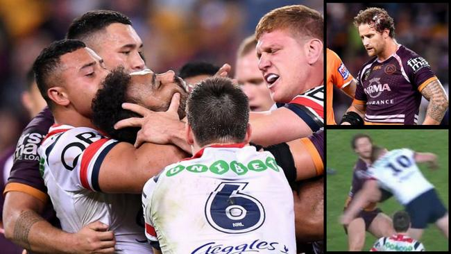 Dylan Napa and Korbin Sims were involved in a controversial incident.