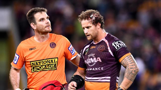 Sims faces four-six weeks out as a result of the hit.