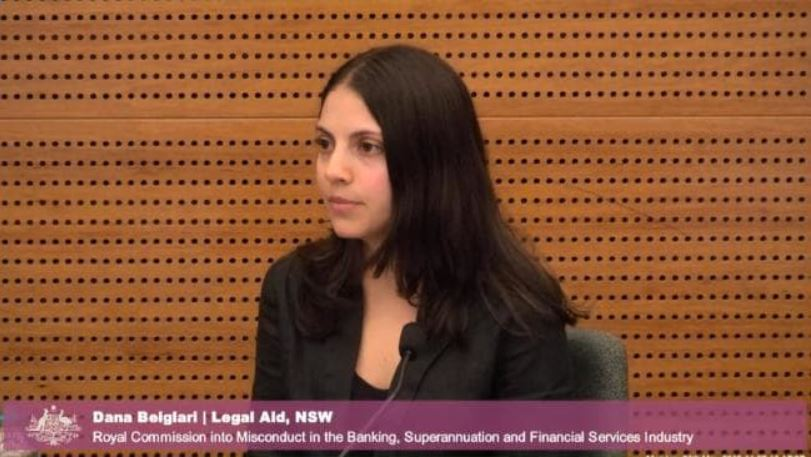 Dana Beiglari from Legal Aid NSW. Picture:Supplied