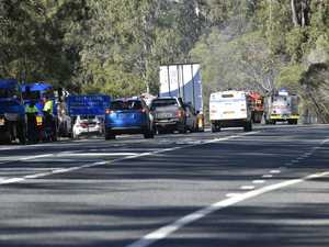 Crash on Pacific Highway