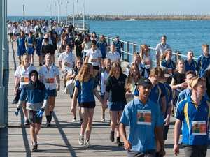 Coffs Harbour High students walk