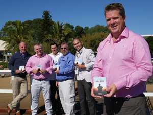 (front) Fraser Coast Mates president Darren Bosley