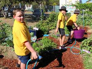WATCH: Out of the classroom and into the garden